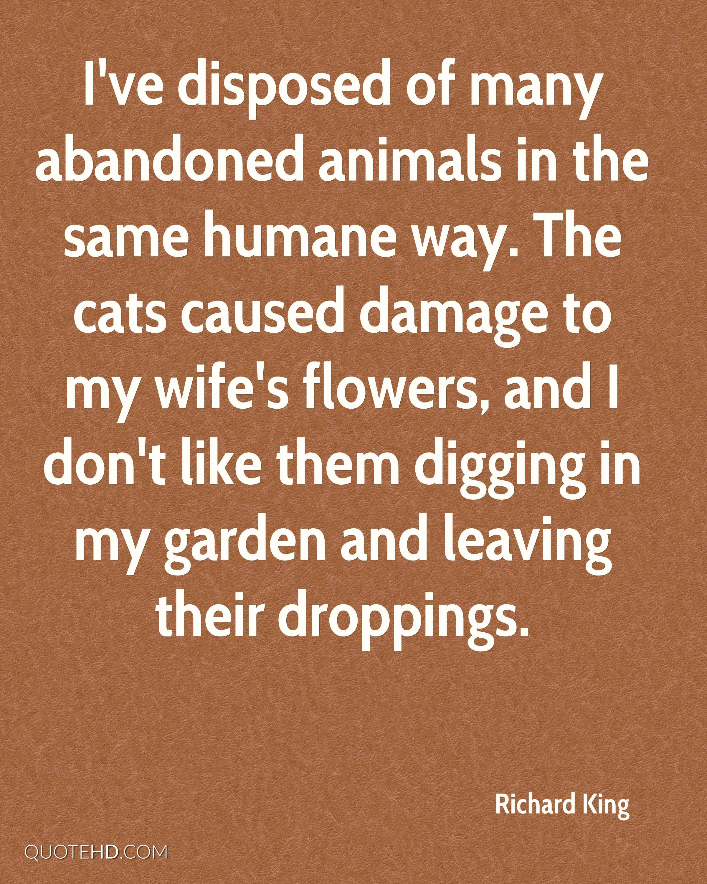 Animals Quotes Richard King Wife Quotes  Quotehd