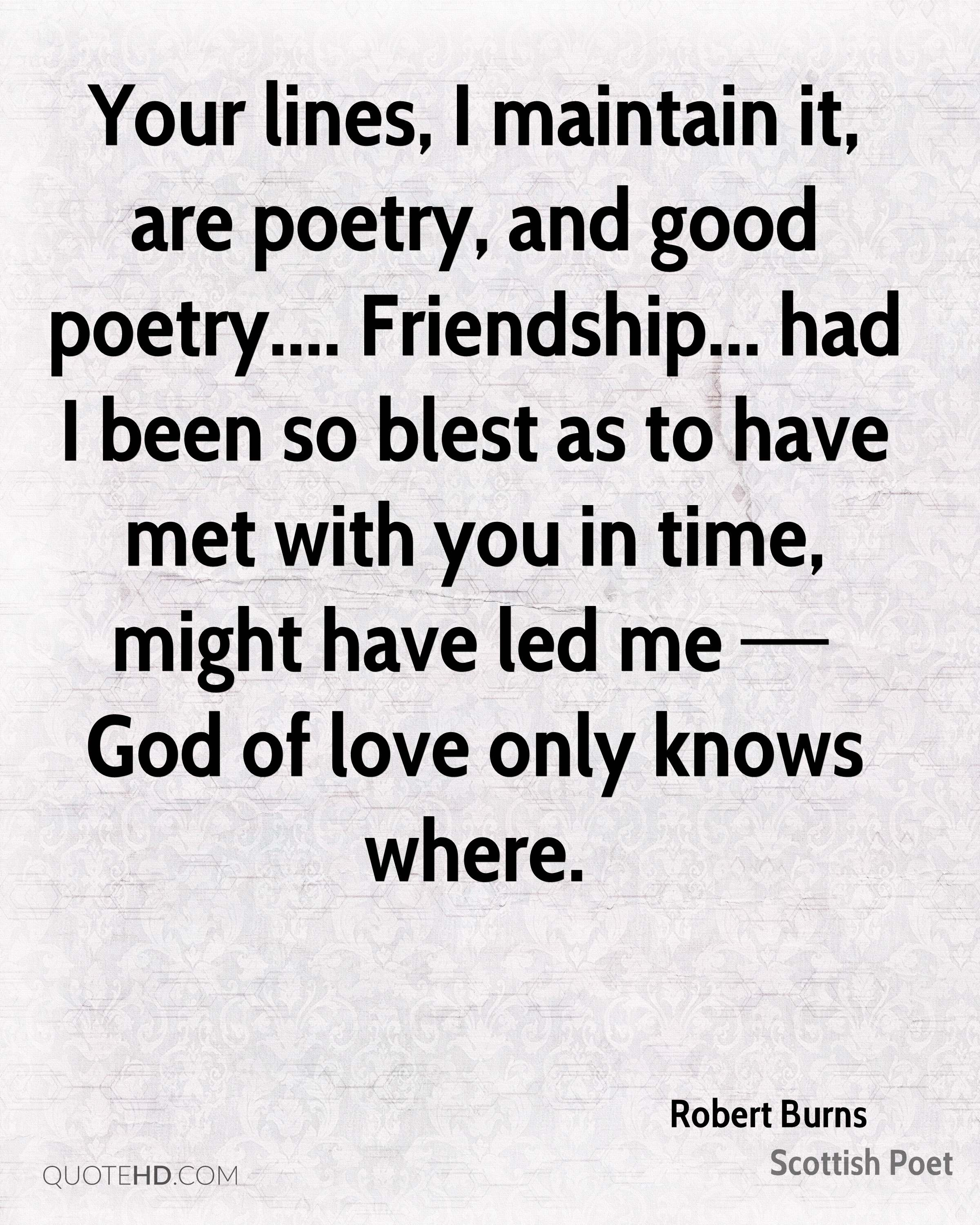 Good Quotes About Love And Friendship Robert Burns Friendship Quotes  Quotehd