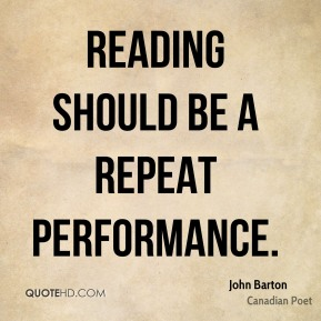 Reading should be a repeat performance.