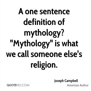 an introduction to the definition and the mythology of religion Nice post i agree that atheism is not a religion by your definition, but secular humanism usually does have a diagnosis (irrationalism, prejudice, unreason, religion) and prescription (reason, human rights, naturalism, progress, etc.