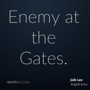 Jude Law  - Enemy at the Gates.
