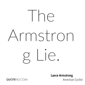 The Armstrong Lie.