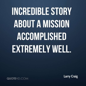 incredible story about a mission accomplished extremely well.
