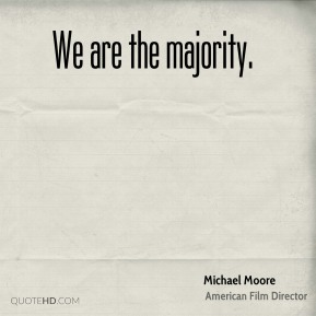 We are the majority.