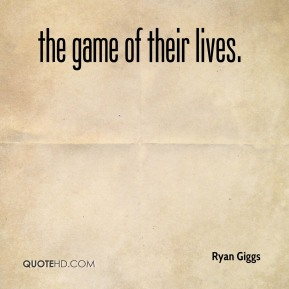 Ryan Giggs  - the game of their lives.