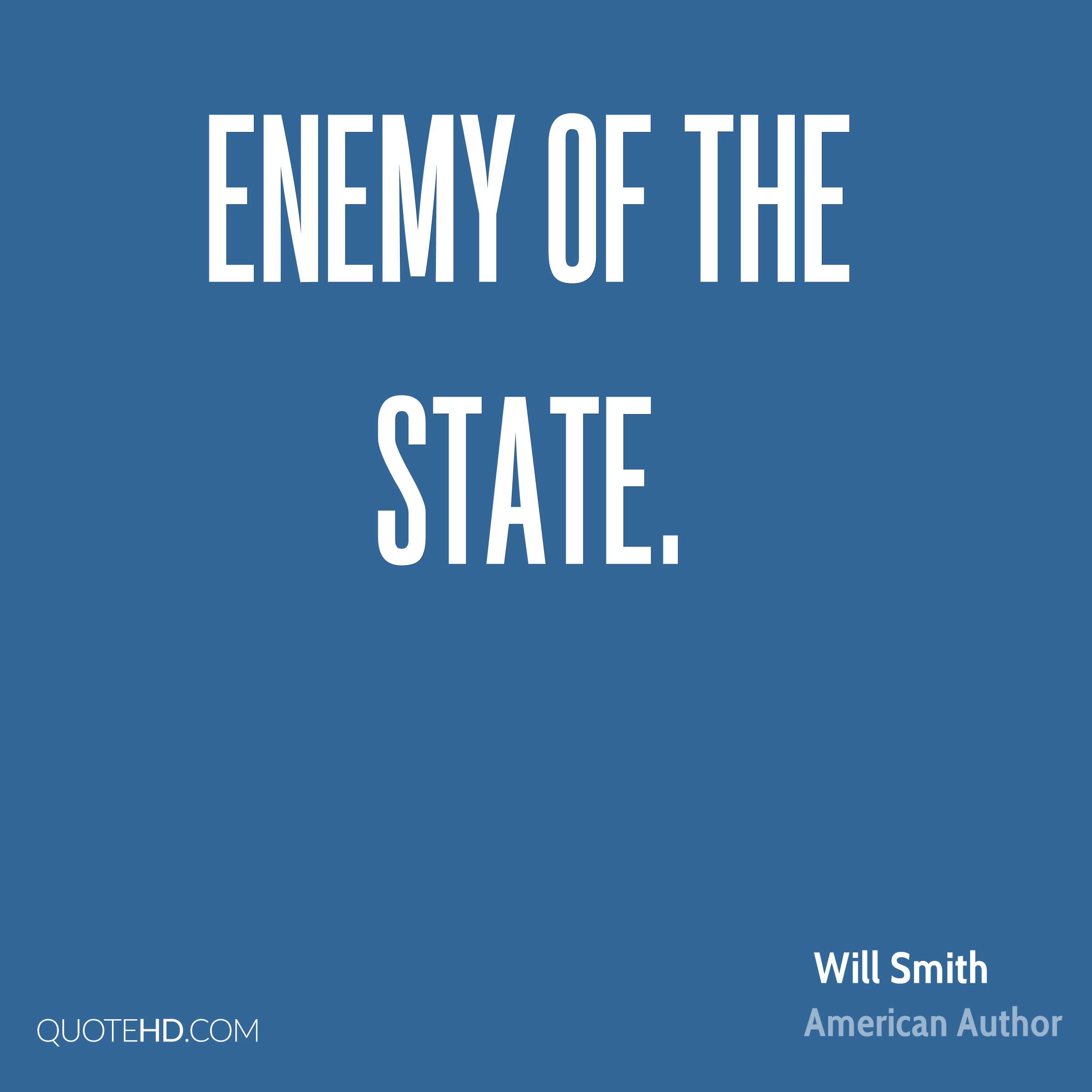 Enemy of the State.