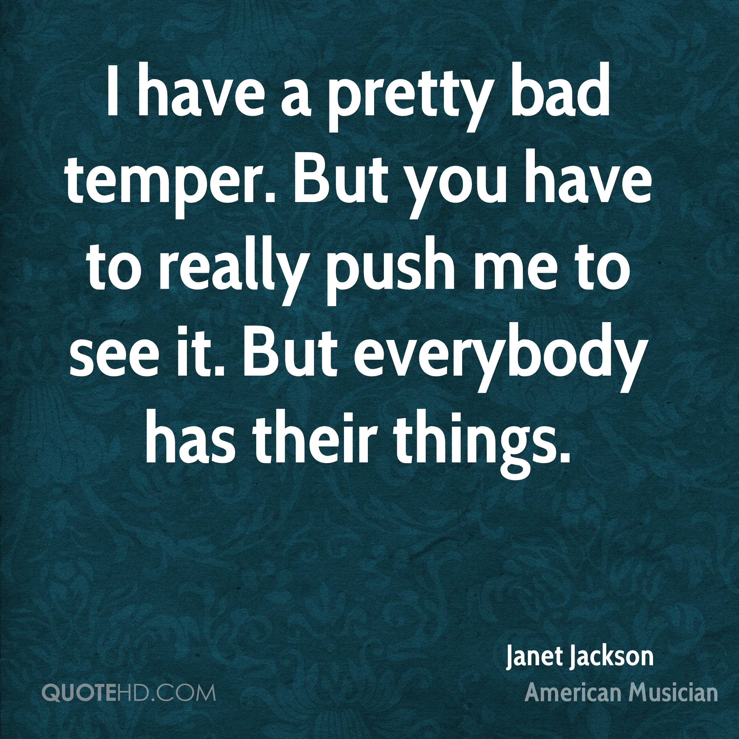 Dating someone with a bad temper