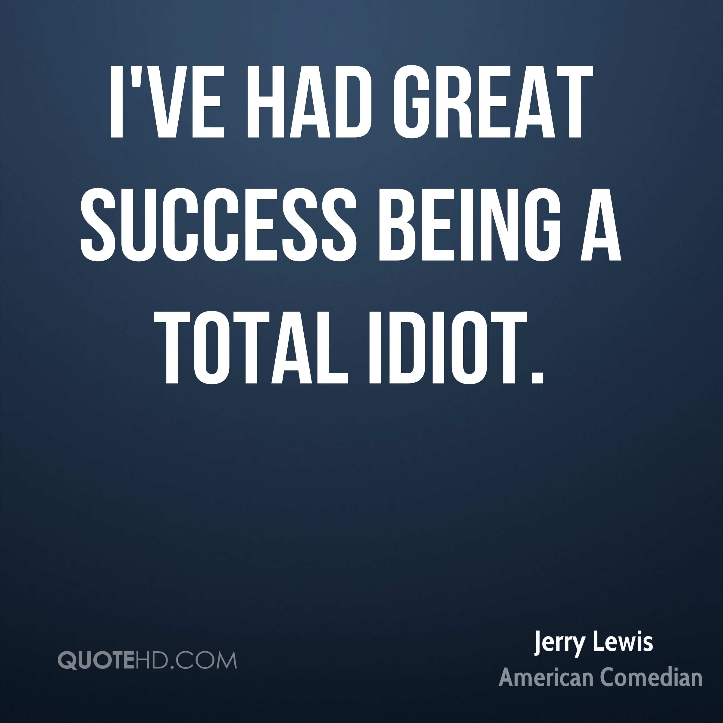 Great Quotes About Success Jerry Lewis Success Quotes  Quotehd