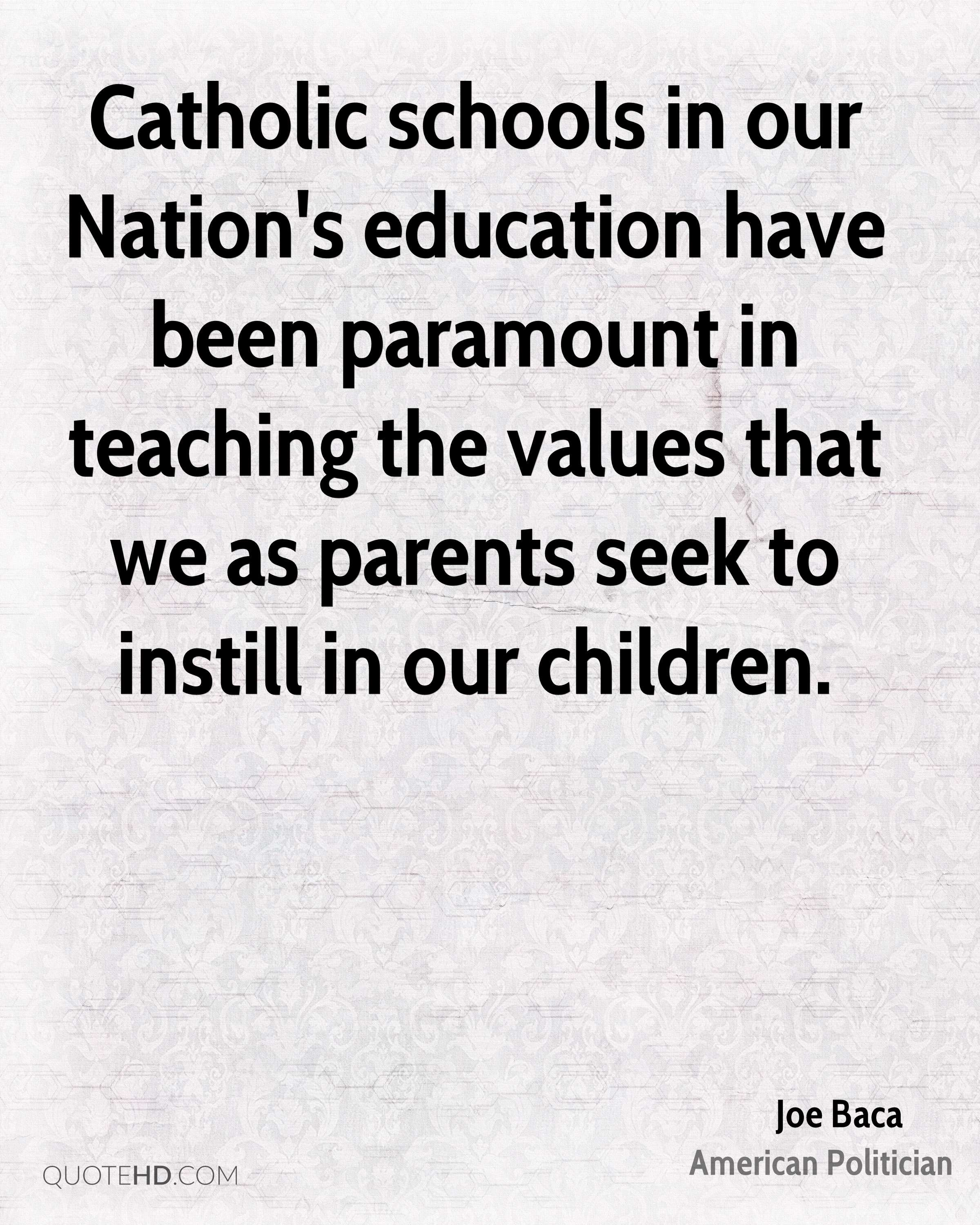 Quotes About Teaching Children Joe Baca Education Quotes  Quotehd