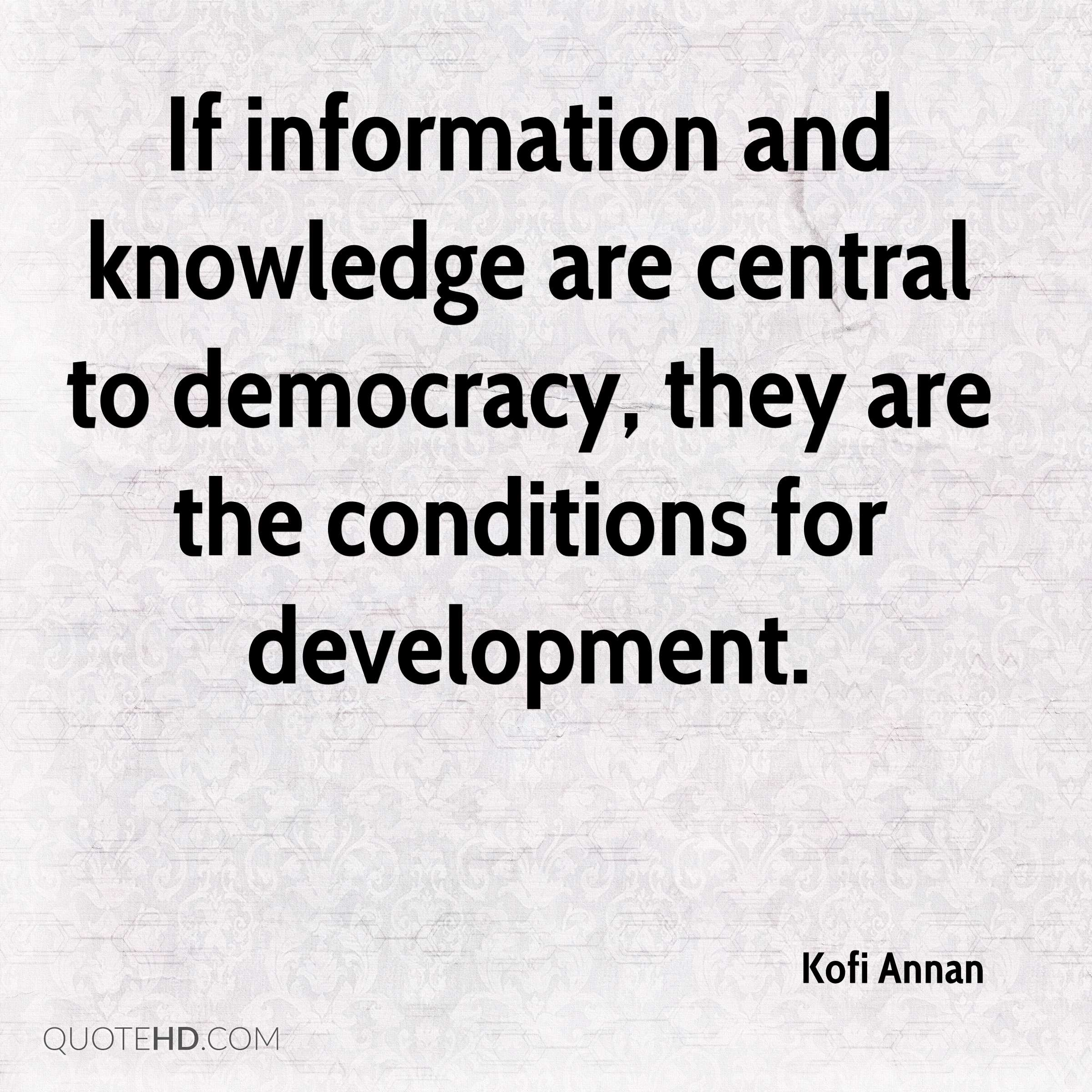 Gender Equality Quotes Kofi Annan Equality Quotes  Quotehd