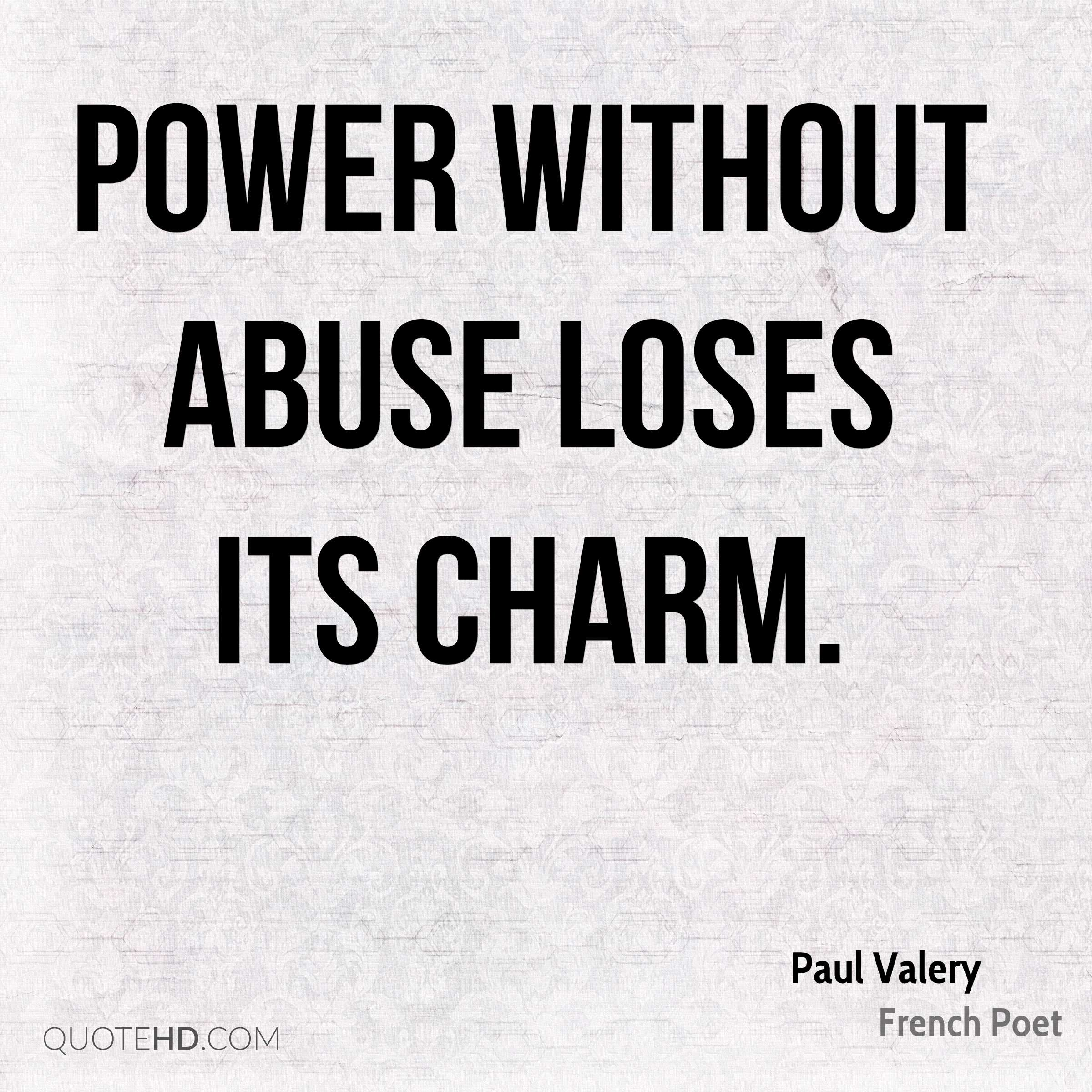 Quotes On Power Alluring Paul Valery Quotes  Quotehd