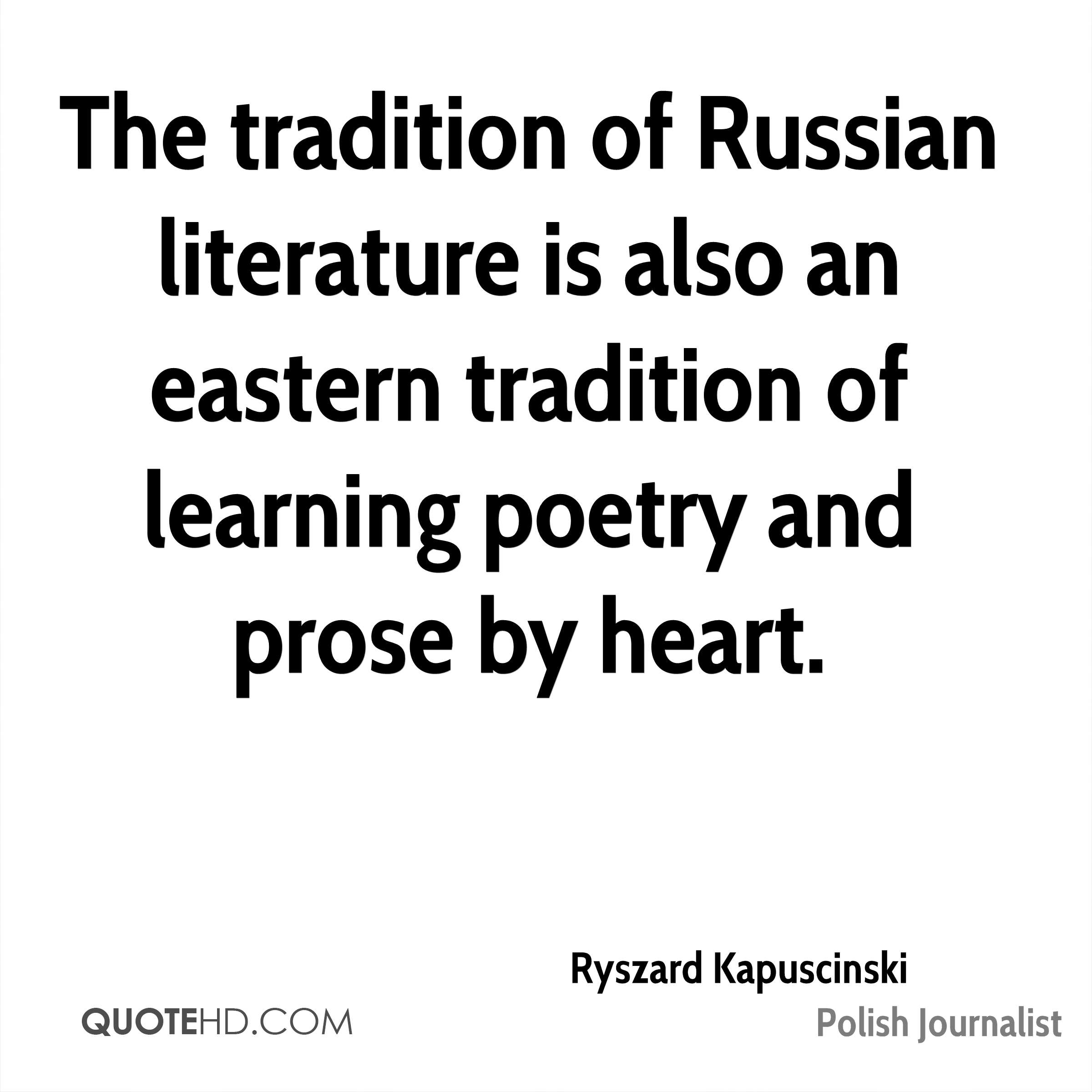 Russian Literature And Tradition 83