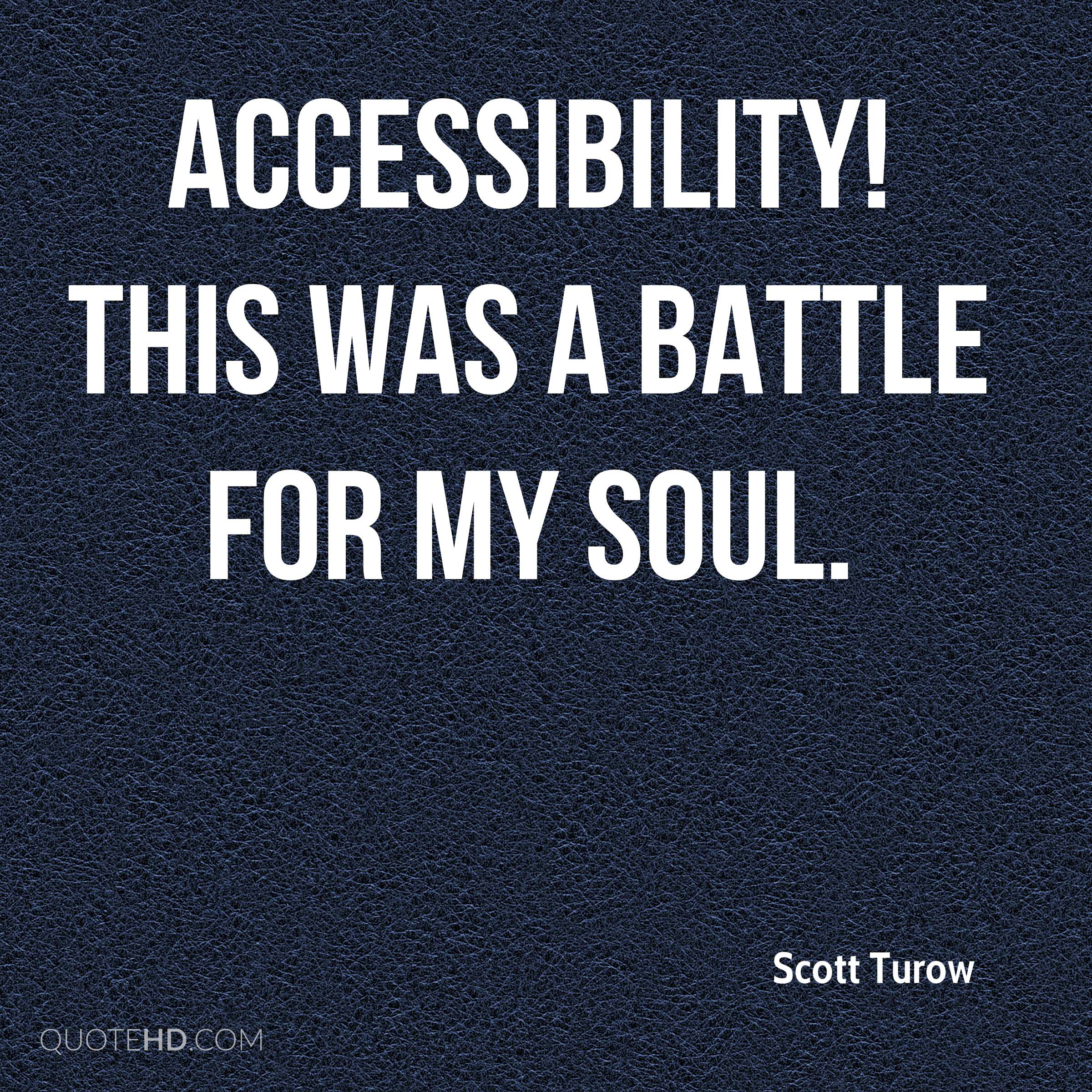 Accessibility! This was a battle for my soul.