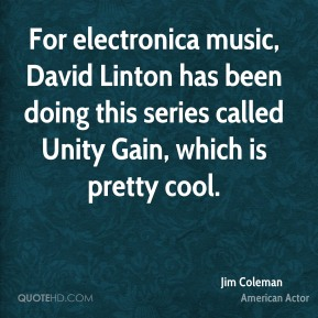 For electronica music, David Linton has been doing this series called Unity Gain, which is pretty cool.