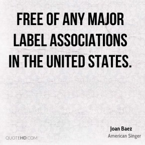 free of any major label associations in the United States.