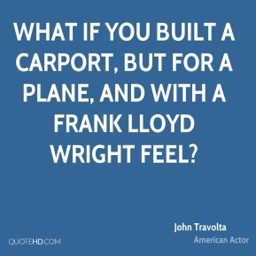 What if you built a carport, but for a plane, and with a Frank Lloyd Wright feel?