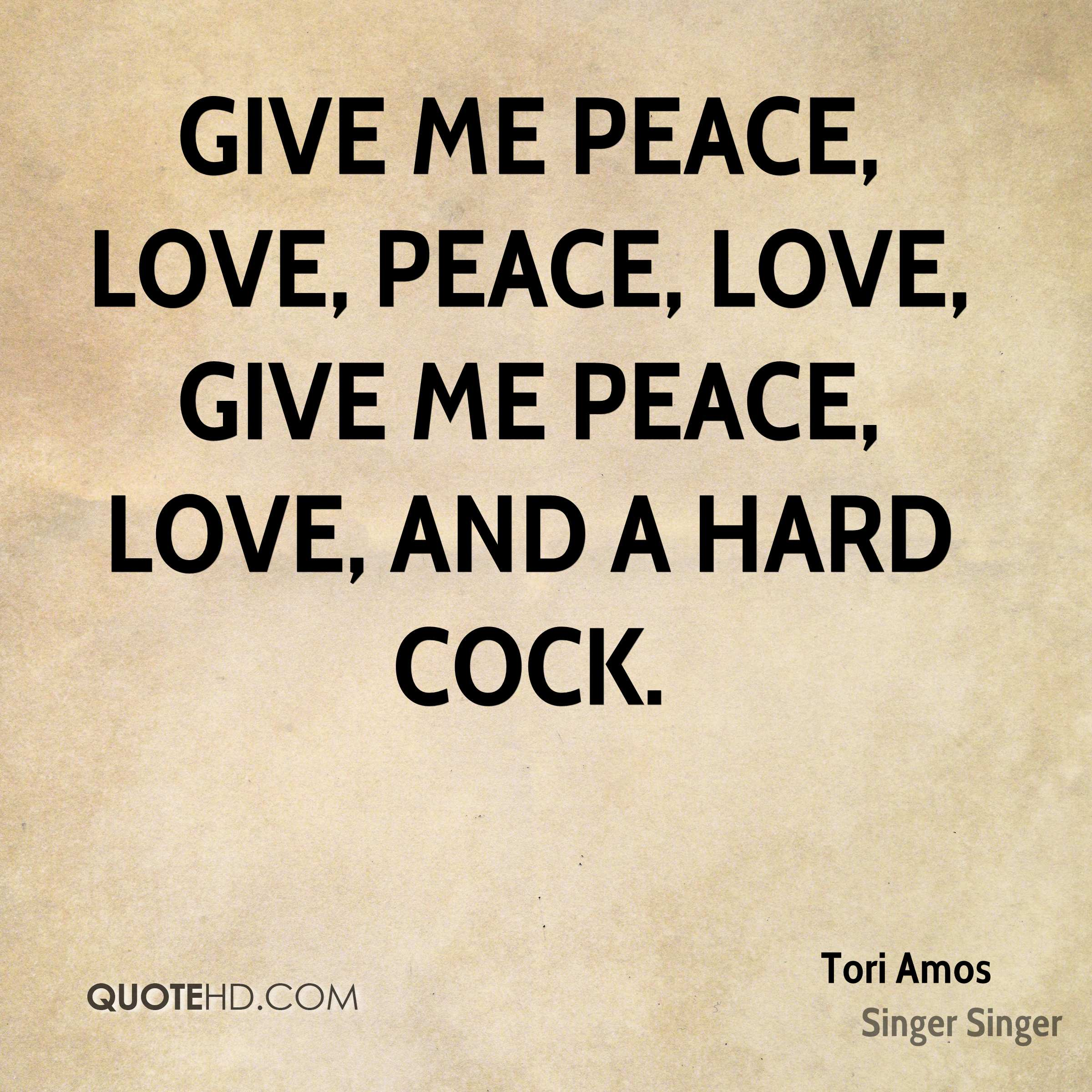 Peace And Love Quotes Enchanting Tori Amos Quotes  Quotehd