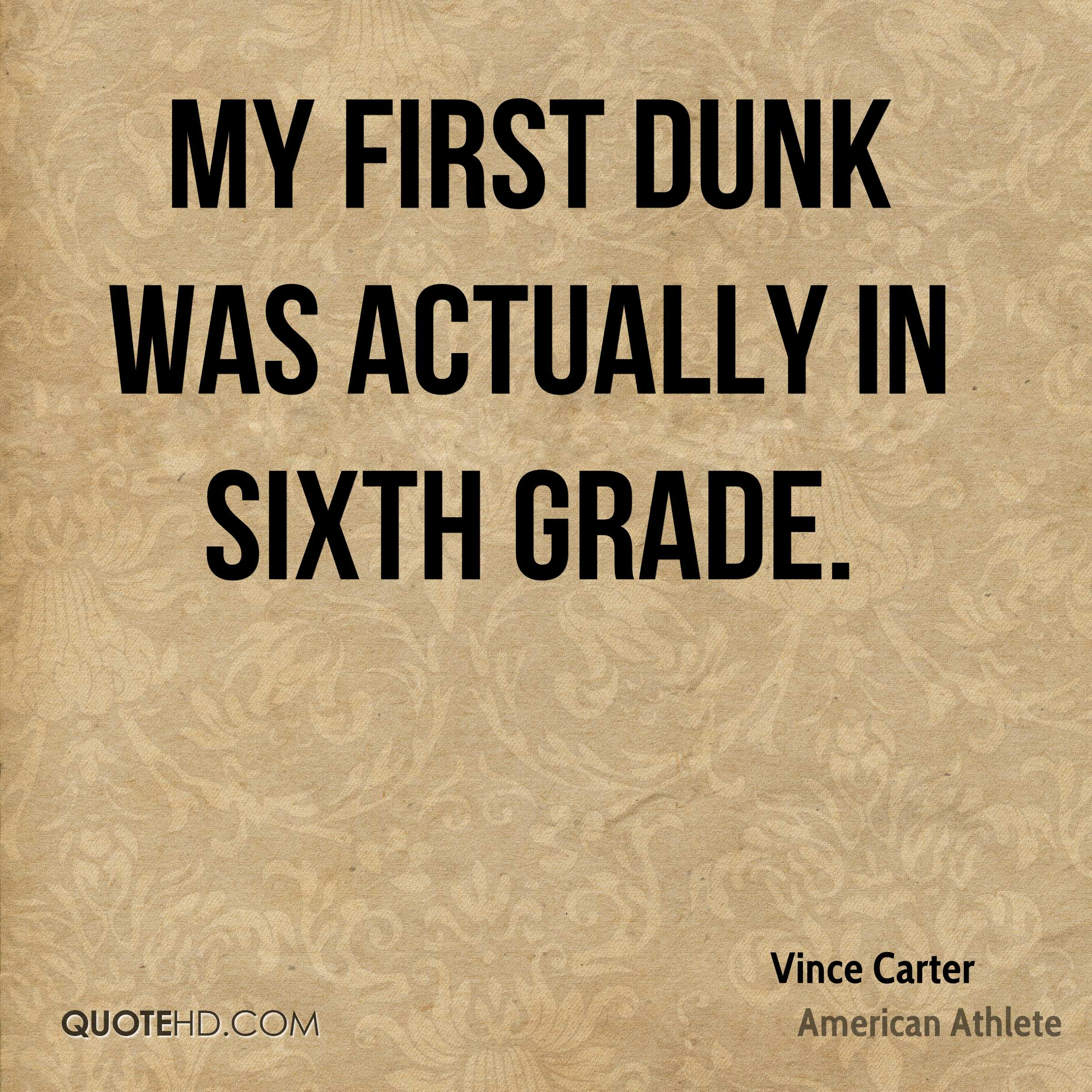 Vince Carter Quotes   QuoteHD