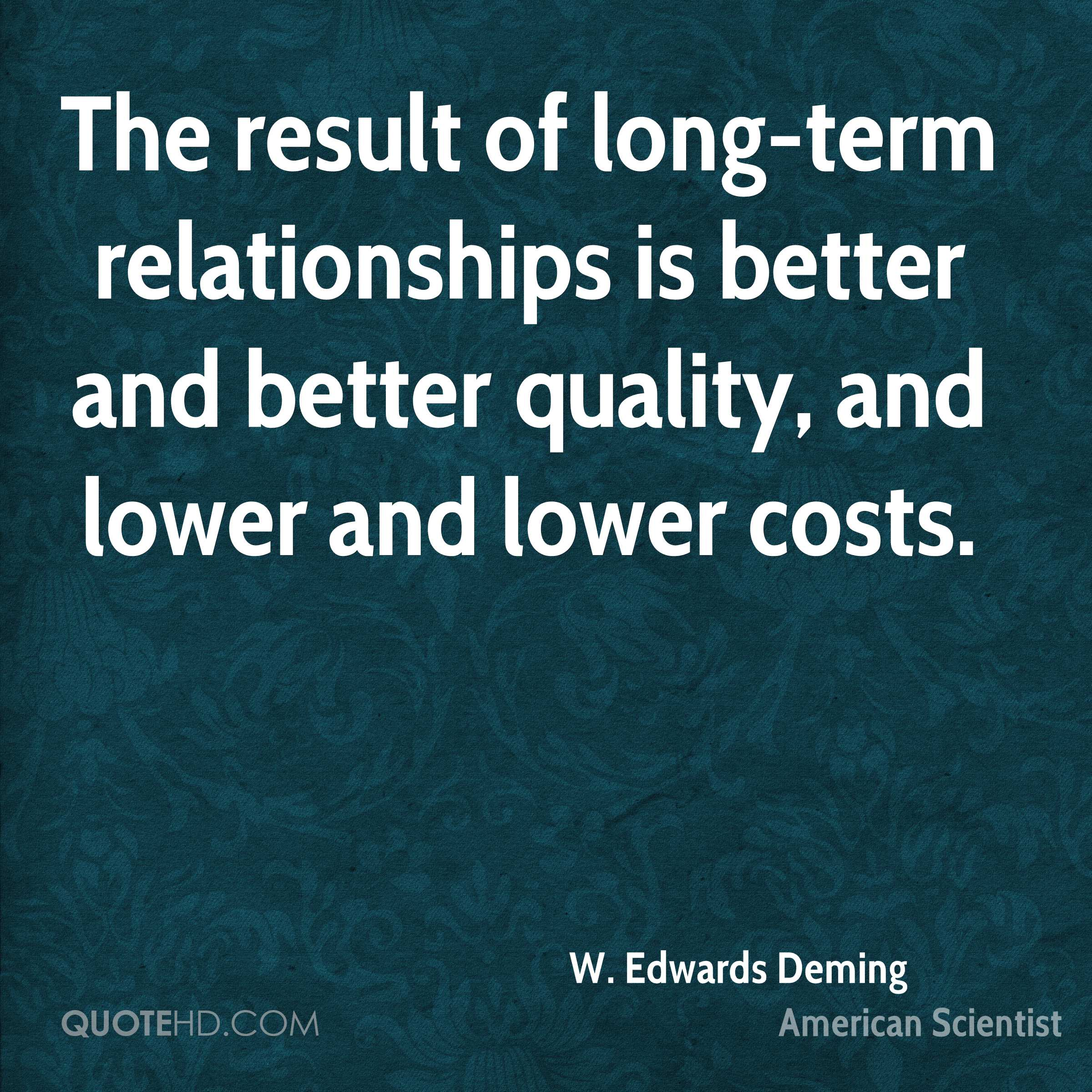 W. Edwards Deming Quotes