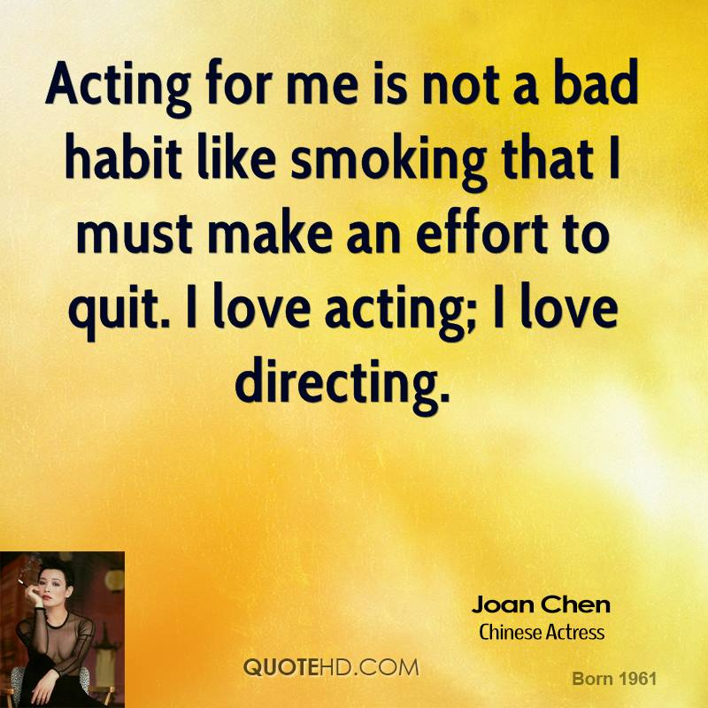 an introduction to the bad habit of smoking Today i'm going to talk to you about why you should never start smoking,  smoking does not only make people look bad,  habit of mind.