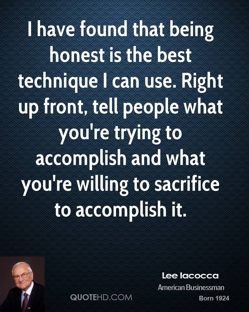 I have found that being honest is the best technique I can use. Right up front, tell people what you're trying to accomplish and what you're willing to sacrifice to accomplish it.