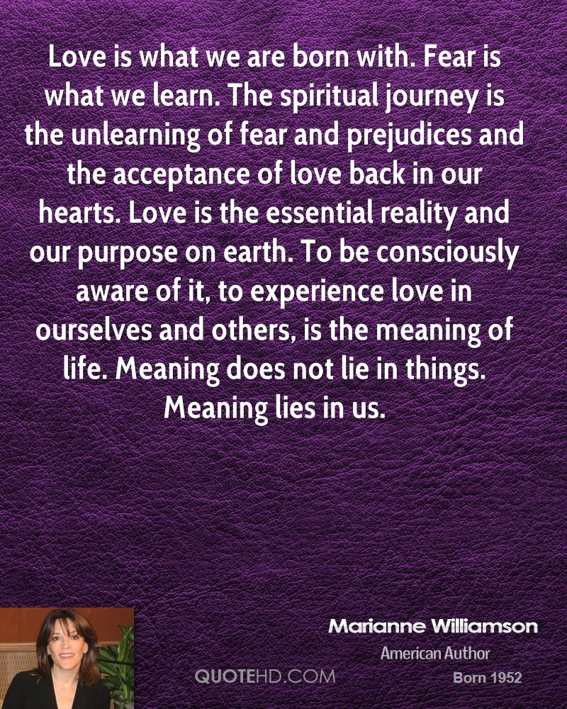 Spiritual Quotes About Love And Life Marianne Williamson Quotes  Quotehd