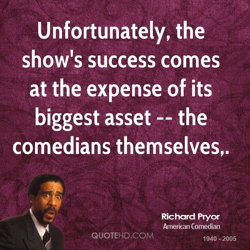 Unfortunately, the show's success comes at the expense of its biggest asset -- the comedians themselves.