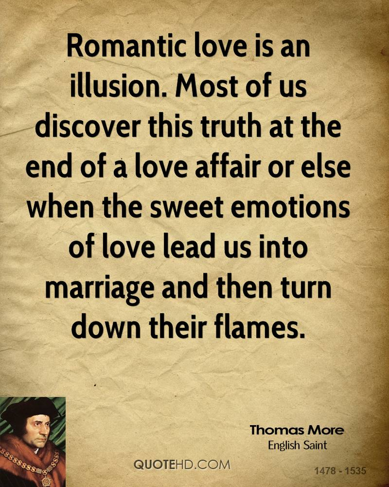 Romantic Quotes Thomas More Marriage Quotes  Quotehd
