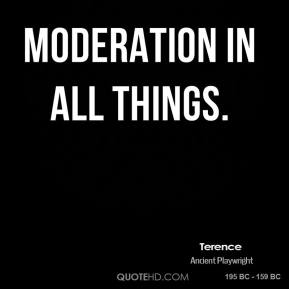 essayons moderation in all things