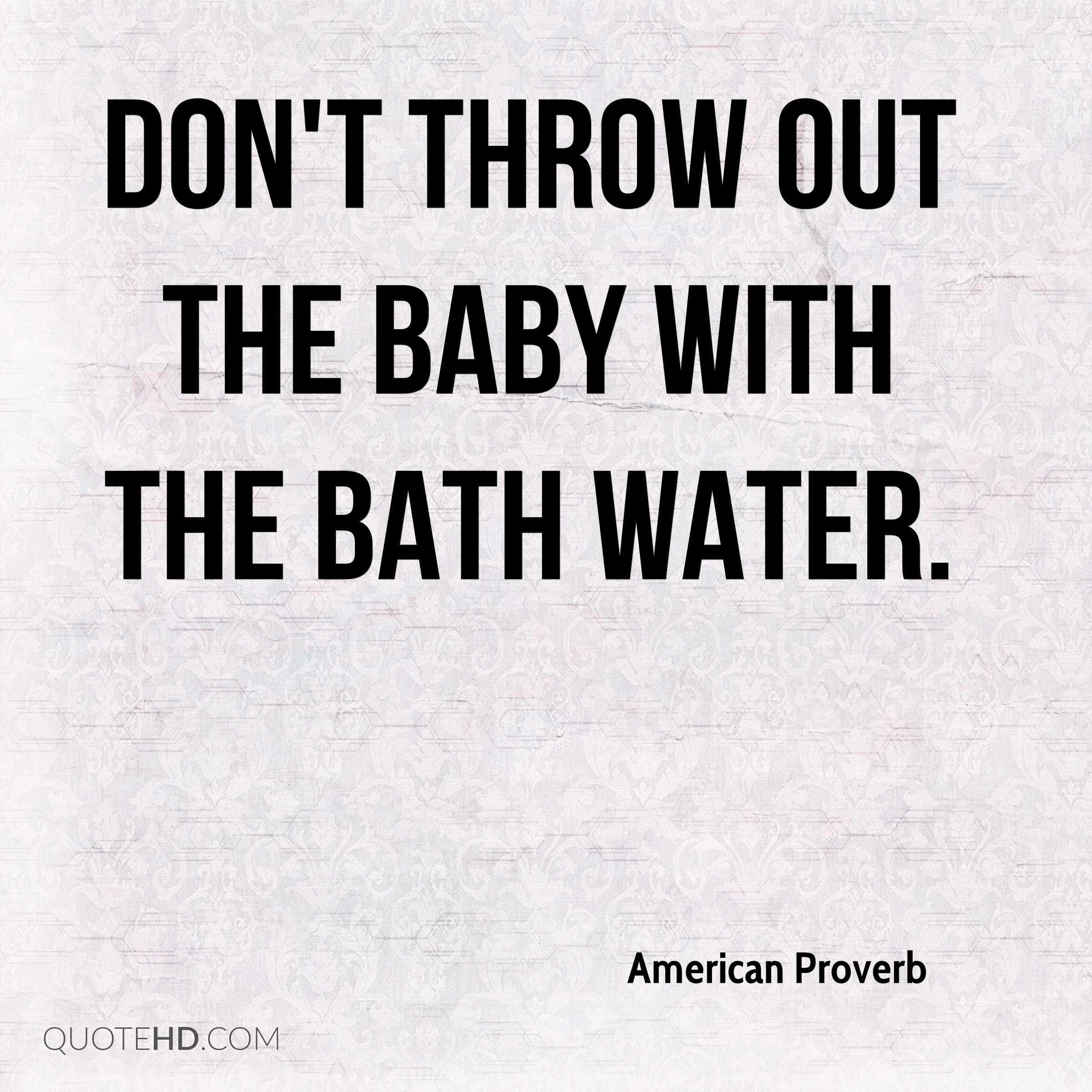 Bath Quotes American Proverb Quotes  Quotehd