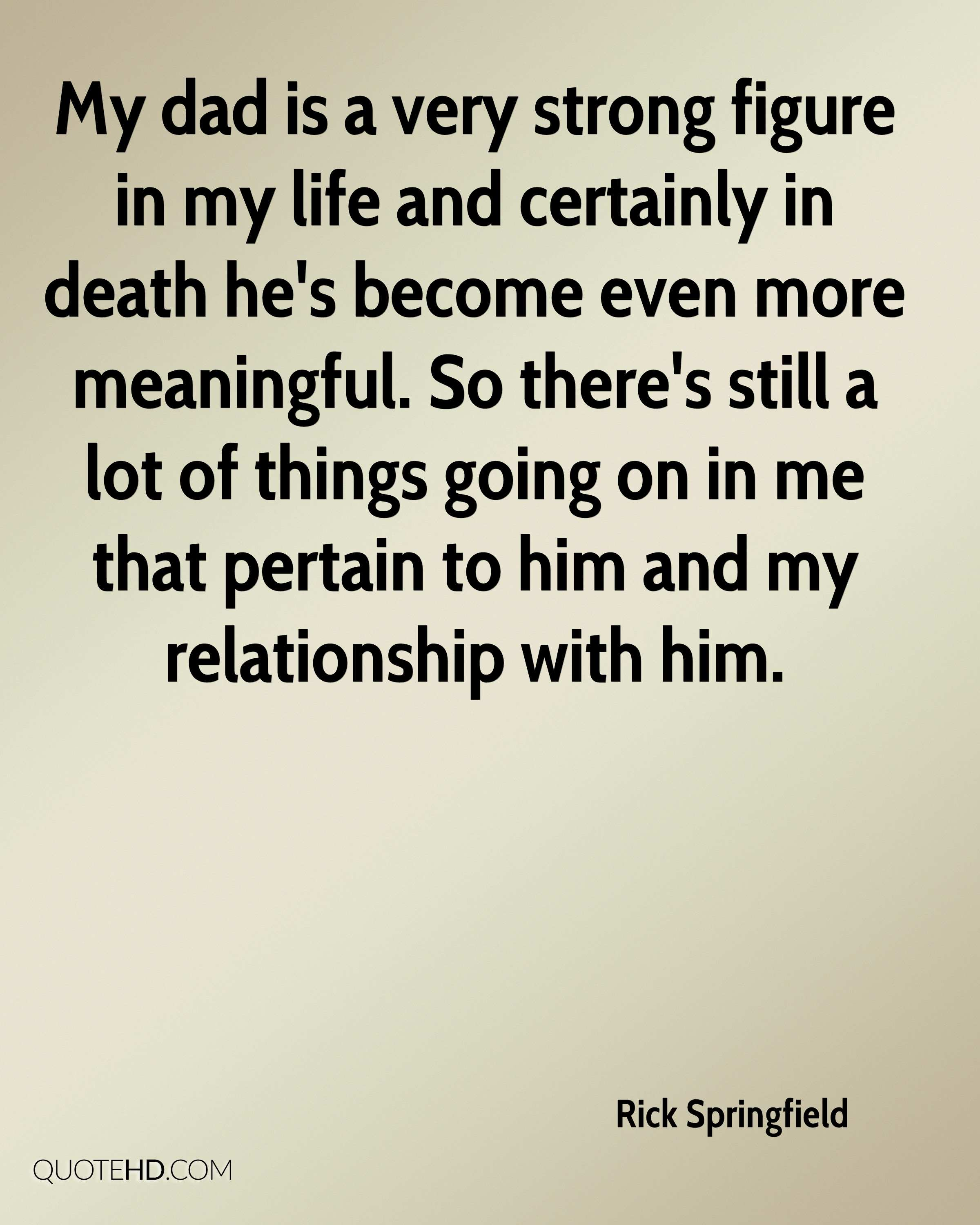 Meaningful Life Quotes Rick Springfield Death Quotes  Quotehd