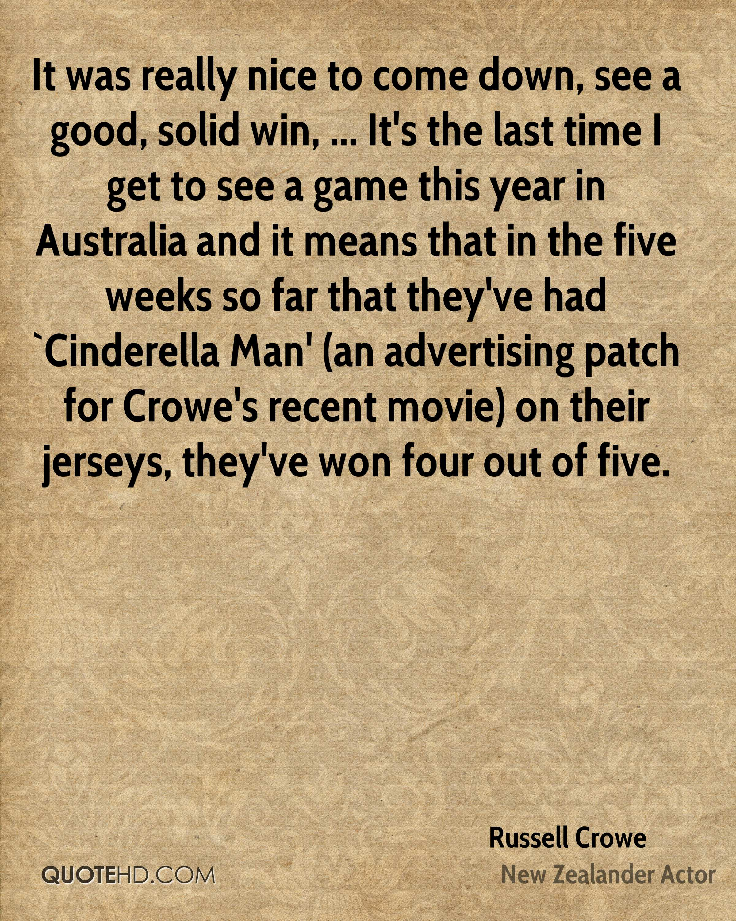 Cinderella Man Quotes Russell Crowe Quotes  Quotehd