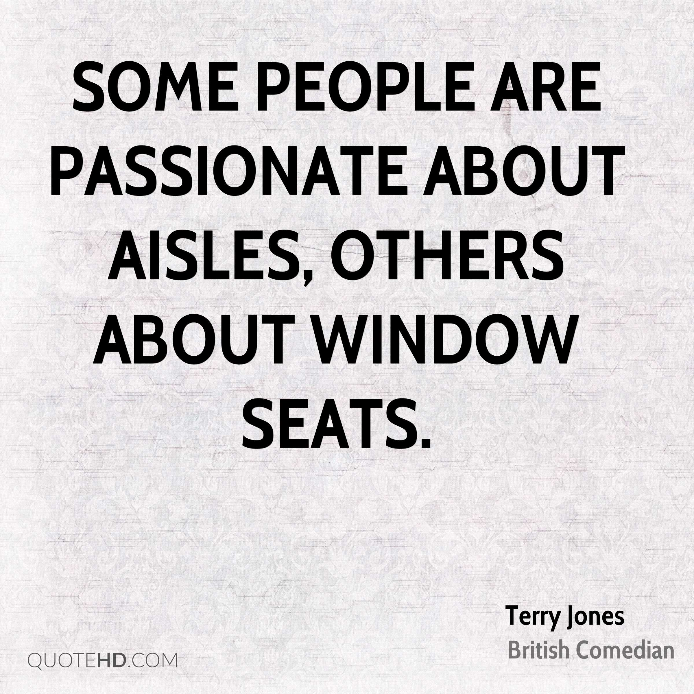 Some people are passionate about aisles, others about window seats.