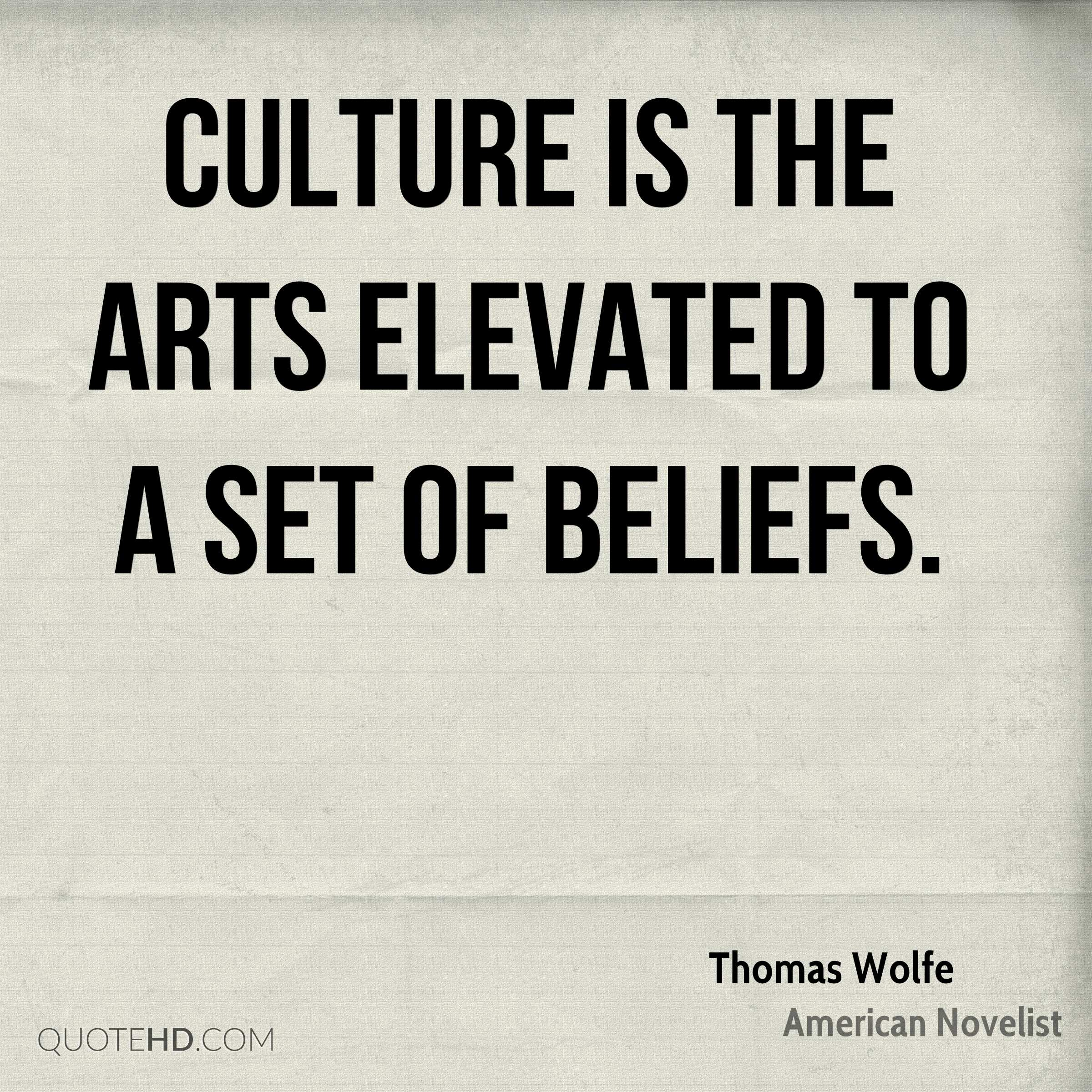 Quotes On Culture Best Thomas Wolfe Art Quotes  Quotehd