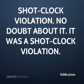 Shot-clock violation. No doubt about it. It was a shot-clock violation.