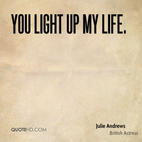 You Light Up My Life.