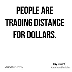 People are trading distance for dollars.