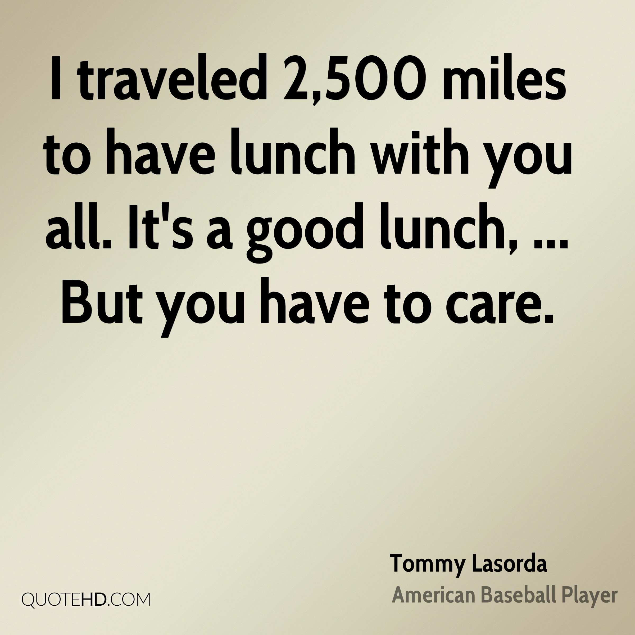 Tommy Lasorda Quotes Quotehd