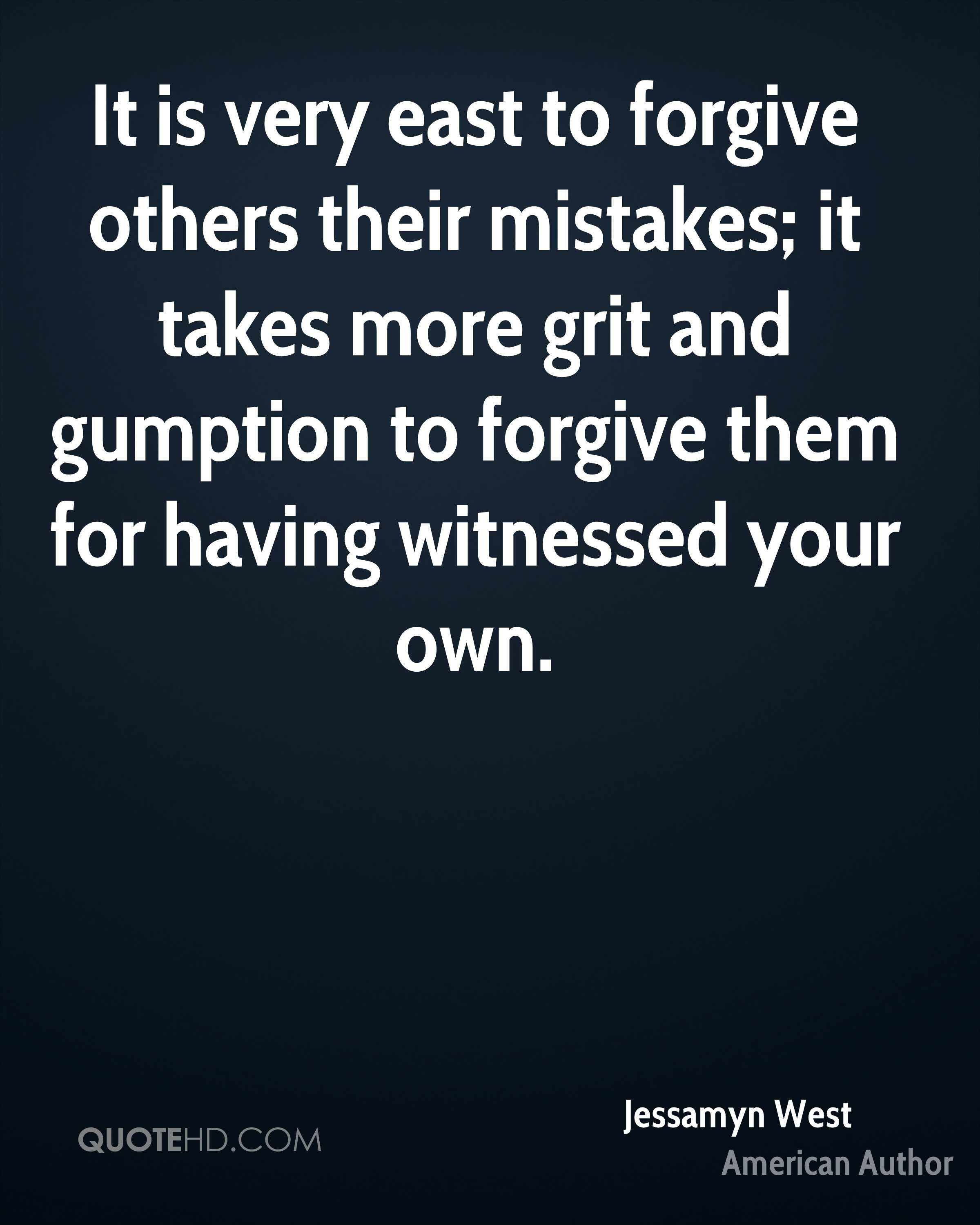 Jessamyn West Forgiveness Quotes Quotehd
