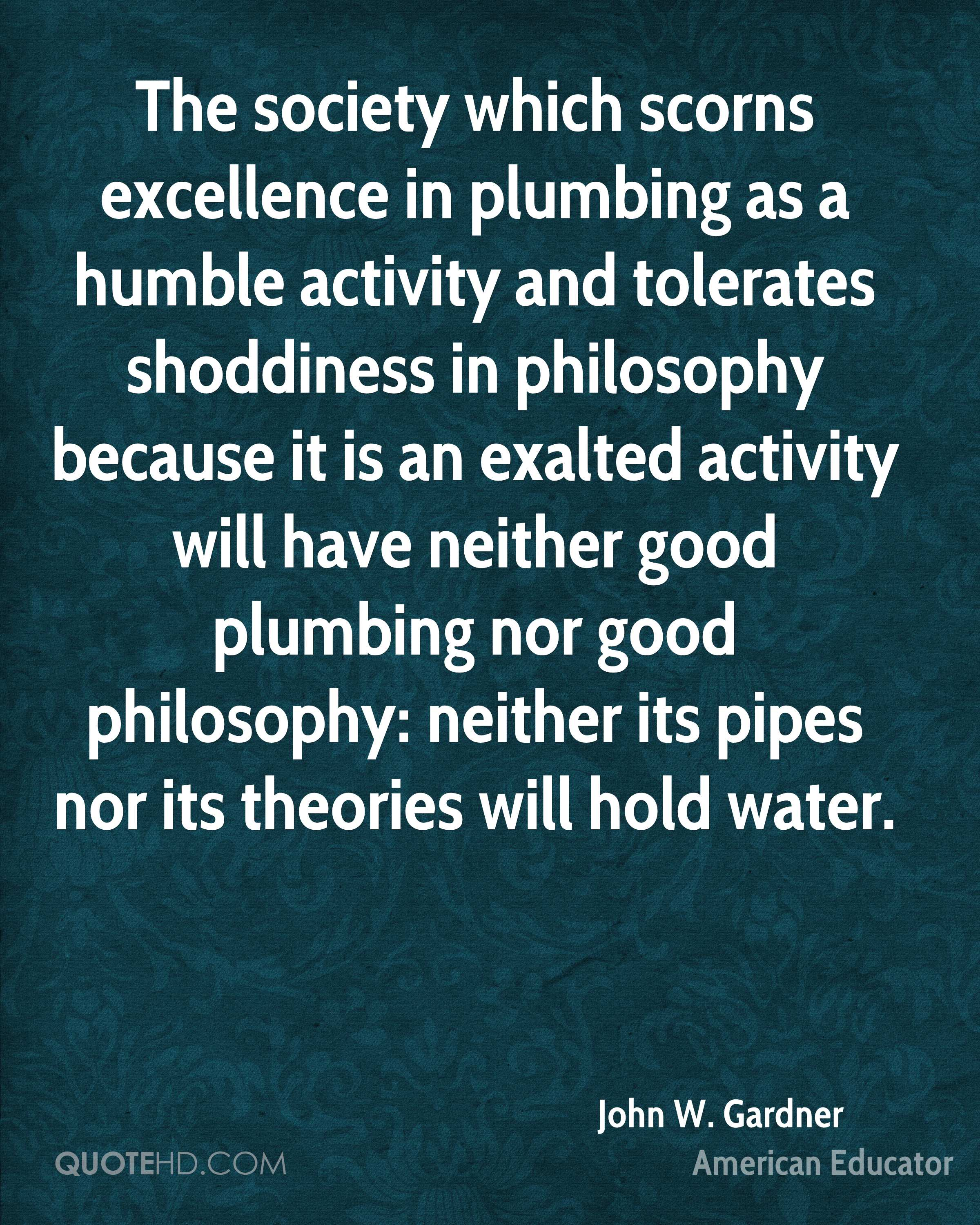what good is philosophy
