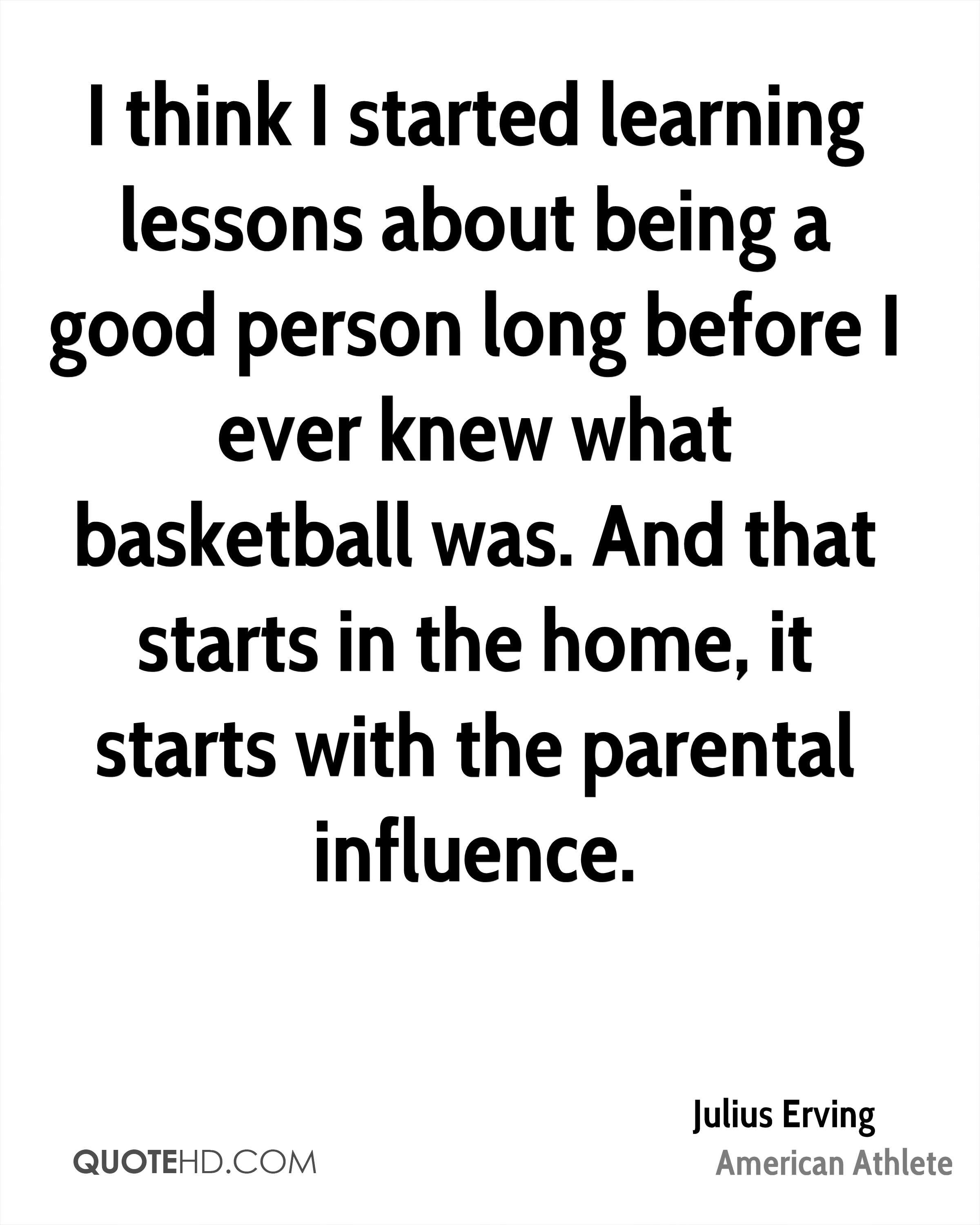 Quotes About Learning Lessons Julius Erving Home Quotes  Quotehd