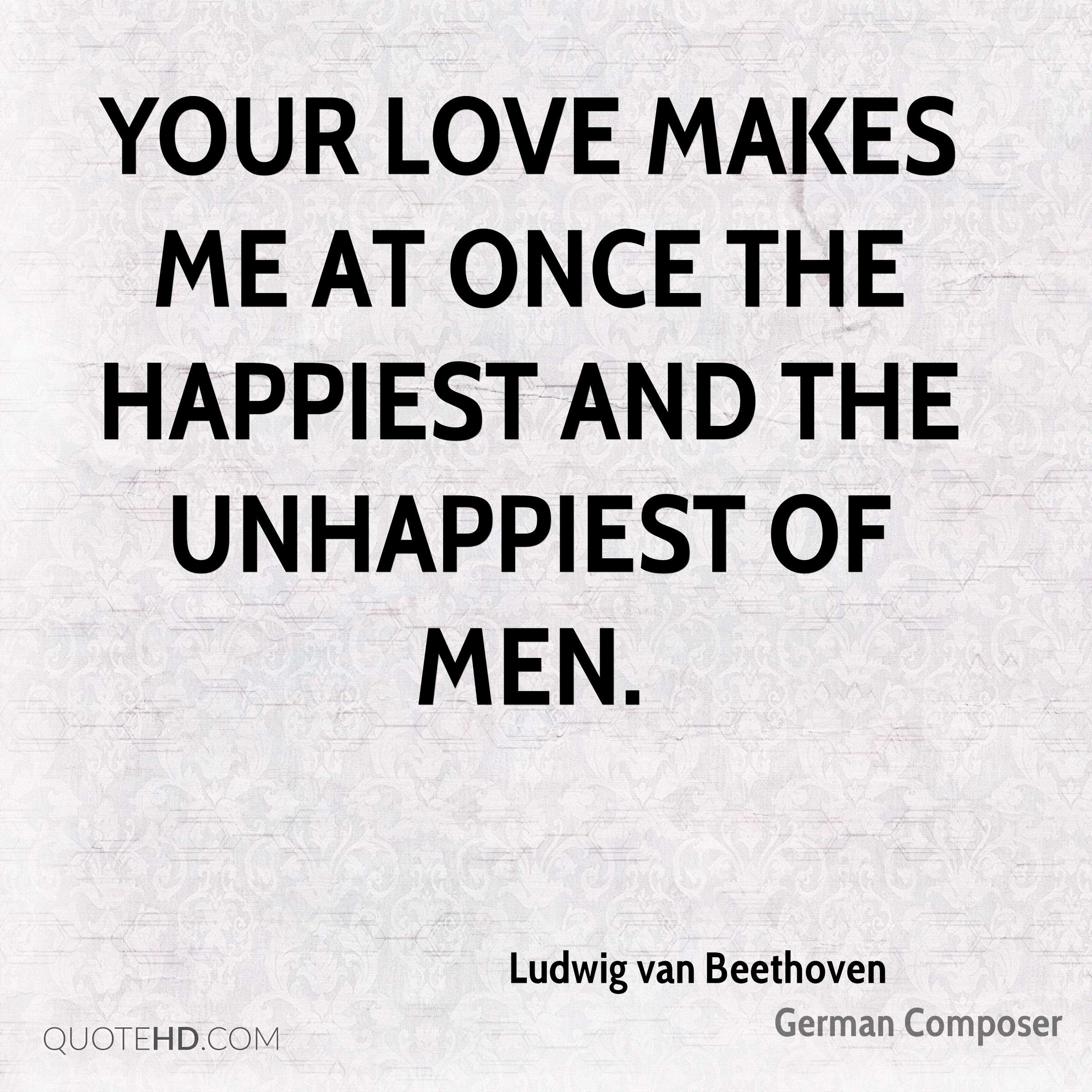Ludwig van Beethoven Quotes | QuoteHD