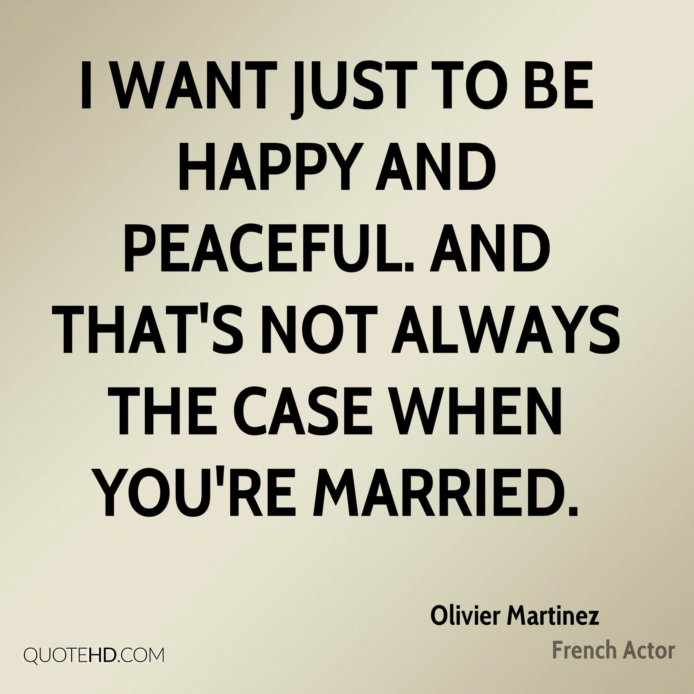 Just Married Quotes Olivier Martinez Marriage Quotes  Quotehd