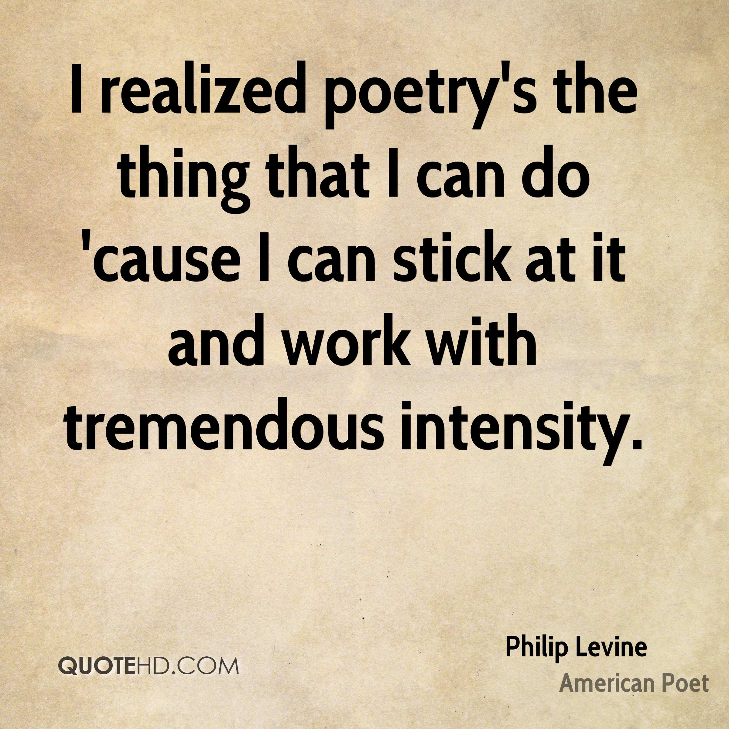 Does poetry still matter?