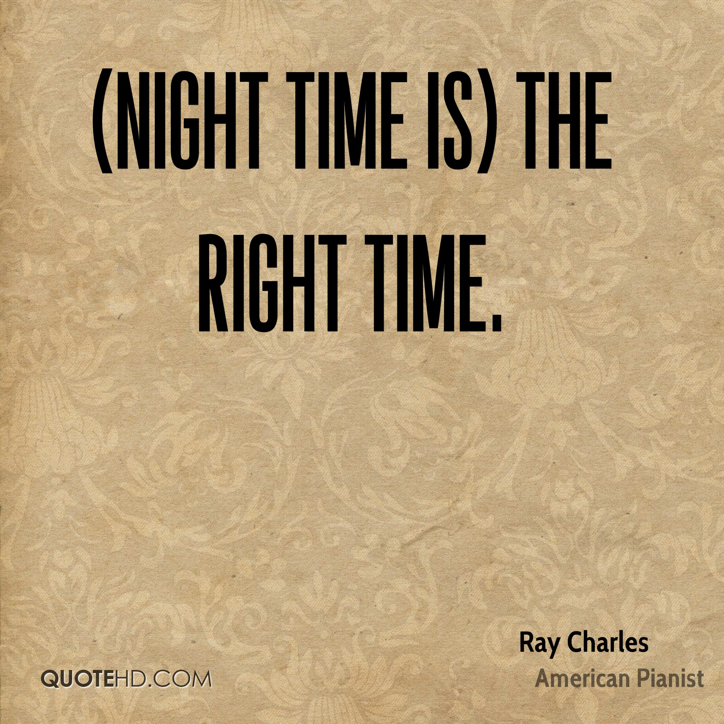 Ray Charles Quotes | QuoteHD