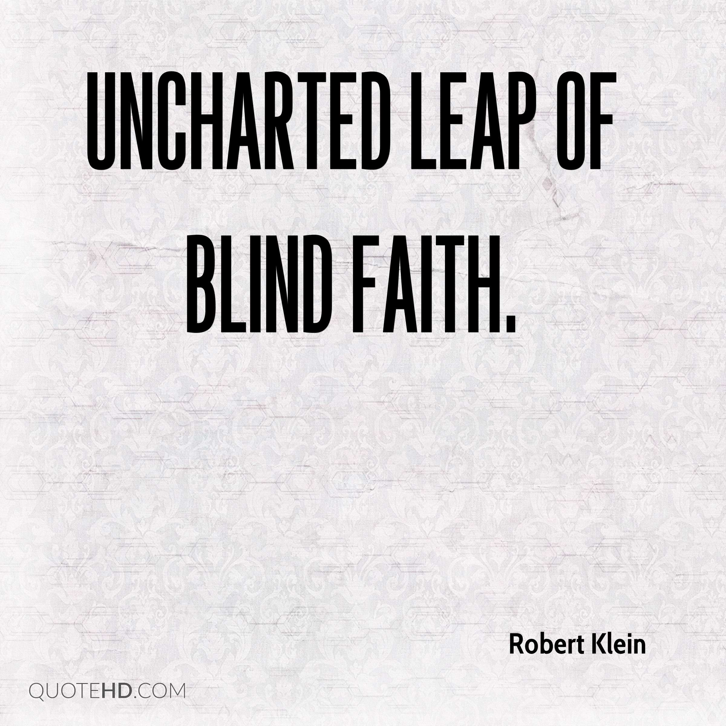 Blind Quotes: Robert Klein Quotes