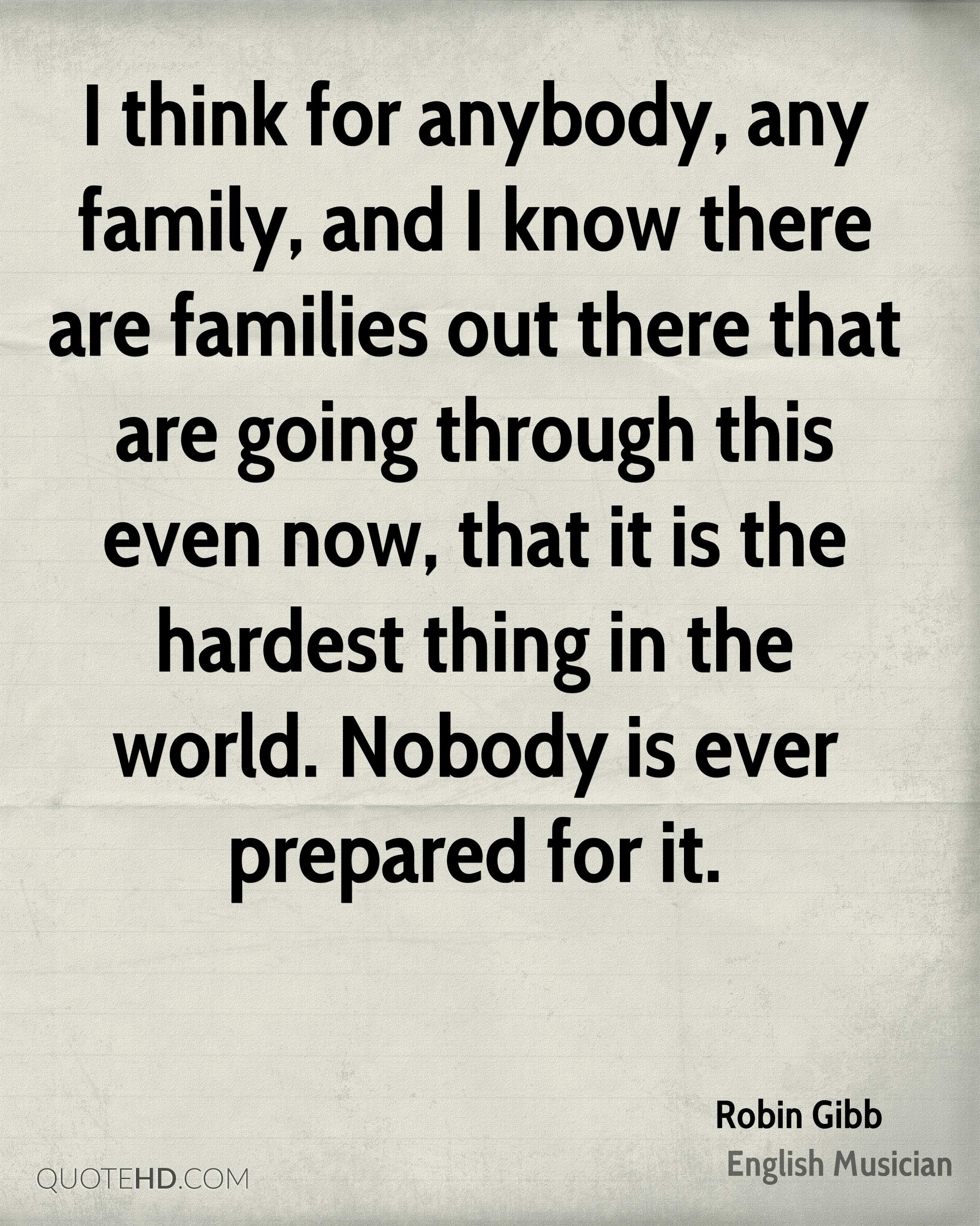Robin Gibb Family Quotes Quotehd