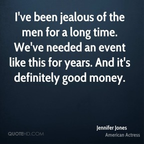 I've been jealous of the men for a long time. We've needed an event like this for years. And it's definitely good money.
