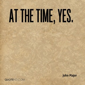 At the time, yes.