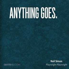 Anything Goes.